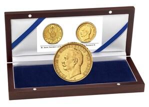 """Goldmünze: """"Großherzog Friedrich II. von Baden"""""""