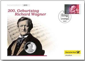 "Numisbrief: ""Richard Wagner"""