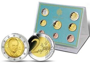 Vatikan Kursmünzensatz 2013
