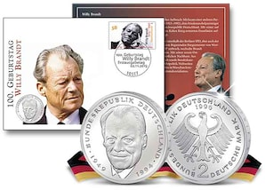 """Numisbrief: """"Willy Brandt"""""""