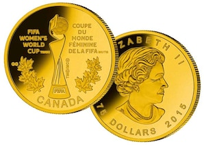 Kanada 75 CAD 2015 (FIFA - The Trophy)