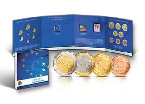 """Numisfolder: """"Einführung des Euros in Estland"""""""