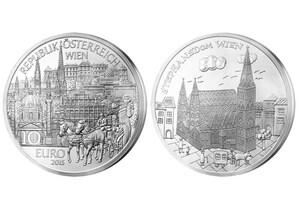 "10-Euro-Silber-Gedenkmünze 2015 ""Wien"""