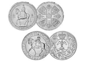 """Münzen-Set """"Queen Elisabeth II."""""""