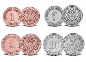 """Set """"Kleinmünzen des Deutschen Kaiserreichs"""""""