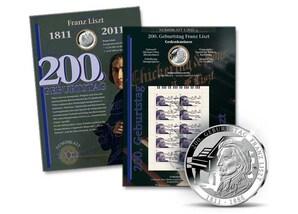 "Numisblatt: ""200. Geburtstag Franz Liszt"""