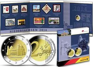 """Gedenkset Bundesländer: """"Niedersachsen"""" 2014"""