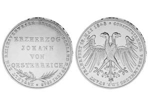 Frankfurter Doppelgulden 1848