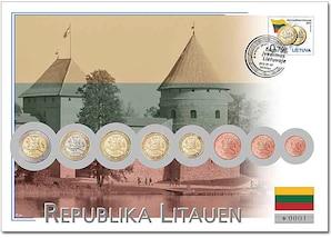 "Euro-Numisbrief: ""Litauen"""