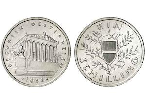 Österreich 1 Schilling Silber (1925-32)