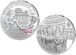 "20-Euro-Silbermünze 2016 ""Wiener Opernball"""