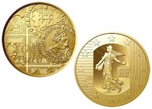 """100 Euro Gold """"Die Säerin - Franz I."""""""