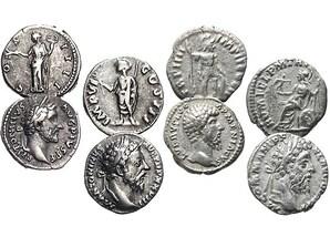 """4er-Set """"Antoninische Dynastie"""""""