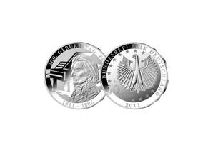 10 Euro 200. Geburtstag Franz Liszt, 2011 (Stempelglanz)