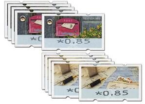 Automatenmarken-10er-Set á 0,85 EUR, Motivgemischt, 2017