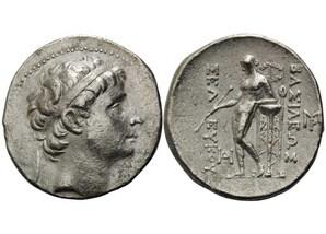 """Tetradrachme von König Seleukos II., dem """"Siegreichen"""""""