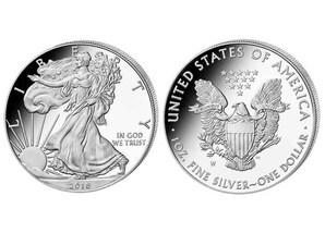 """1 Dollar """"American Silver Eagle"""" 2016"""