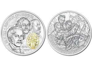 """20-Euro-Silbermünze """"175 Jahre Wiener Philharmoniker"""""""
