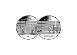 10 Euro 50 Jahre Deutsche Bundesbank; 2007 (Stempelglanz)