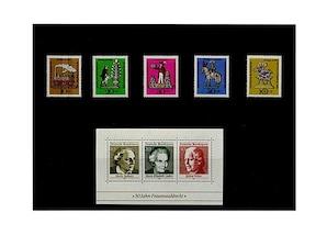 Bund, Briefmarken-Jahrgang 1969