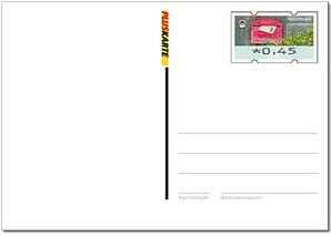 """Blankoganzsache """"Automatenmarken Postkarten"""""""