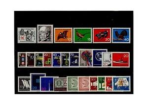 Bund, Briefmarken-Jahrgang 1965