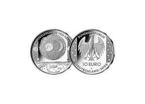 10 Euro Himmelsscheibe von Nebra; 2008 (Spiegelglanz)