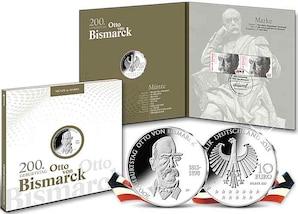 """Numisfolder Münze & Marke: """"Otto von Bismarck"""""""