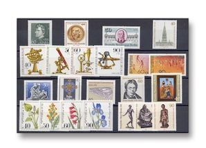 Berlin, Briefmarken-Jahrgang 1981