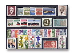 Berlin, Briefmarken-Jahrgang 1975