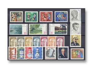 Berlin, Briefmarken-Jahrgang 1972