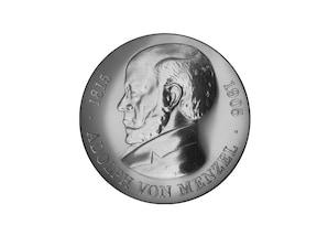 """DDR Münze: 5 Mark """"75. Todestag Adolph von Menzel"""", 1980 (Vorzüglich/Stempelglanz)"""