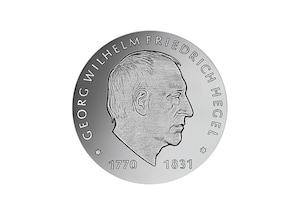 """DDR Münze: 10 Mark """"150. Todestag Georg W. F. Hegel"""", 1981 (Vorzüglich/Stempelglanz)"""