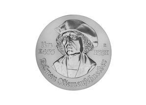"""DDR Münze:  5 Mark """"450. Todestag Tilmann Riemenschneider"""", 1981 (Vorzüglich/Stempelglanz)"""