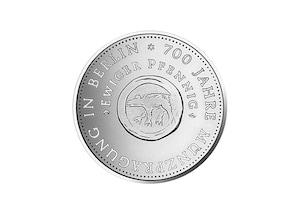 """DDR Münze: 10 Mark """"700. Jahrestag der ersten Münzpräg. in Berlin"""" 1981 (Vorzüglich/Stempelglanz)"""