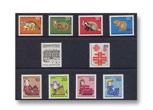 Berlin, Briefmarken-Jahrgang 1968