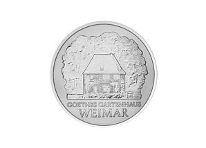"""DDR Münze: 5 Mark """"150. Todestag Johann W. von Goethe"""", 1982 (Vorzüglich/Stempelglanz)"""