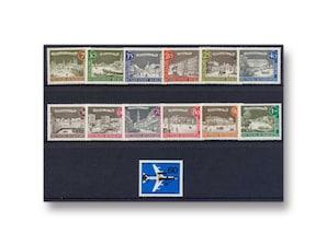 Berlin, Briefmarken-Jahrgang 1962