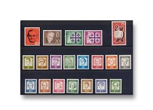 Berlin, Briefmarken-Jahrgang 1961