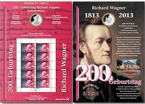 """Numisblatt: """"200. Geb. Richard Wagner"""""""