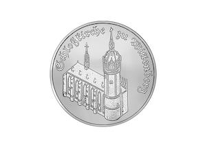 """DDR Münze: 5 Mark """"Schlosskirche Wittenberg"""", 1983 (Vorzüglich/Stempelglanz)"""