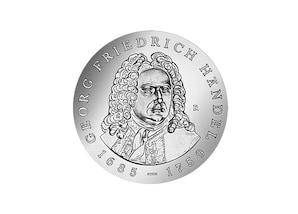 """DDR Münze: 20 Mark """"225. Todestag Georg Friedrich Händel"""", 1984 (Vorzüglich/Stempelglanz)"""