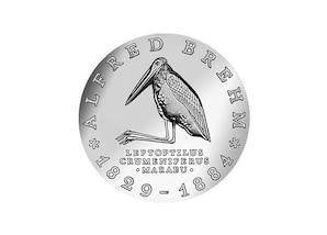 """DDR Münze: 10 Mark """"100. Todestag Alfred Brehm"""", 1984 (Vorzüglich/Stempelglanz)"""