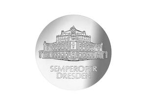 """DDR Münze; 10 Mark """"Wiedereröffnung der Semperoper"""", 1985 (Vorzüglich/Stempelglanz)"""