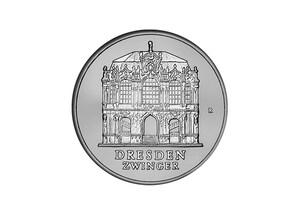 """DDR Münze: 5 Mark """"Dresdner Zwinger"""" 1985 (Vorzüglich/Stempelglanz)"""