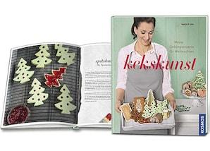 """Kosmos Buch """"Kekskunst Weihnachten"""""""
