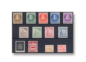 Berlin, Briefmarken-Jahrgang 1953