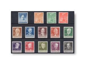 Berlin, Briefmarken-Jahrgang 1952