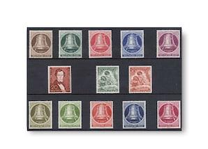 Berlin, Briefmarken-Jahrgang 1951