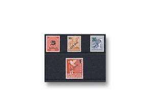 Berlin, Briefmarken-Jahrgang 1949 (064-067)